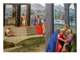 Scenes from the Life of Saint John the Baptist, Ca. 1511 Posters by Francesco Granacci