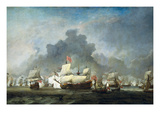 Battle of Solebay in the Anglo Dutch War - 1672 Prints by Van De Velde