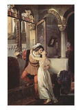 Romeo and Juliet Prints by Francesco Hayez