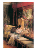 Vain Courtship Posters by Sir Lawrence Alma-Tadema