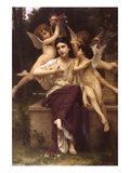Dream of Spring Posters by William Adolphe Bouguereau