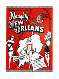 Naughty New Orleans Posters
