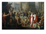 The Triumph of Aemilius Paulus, Kunst von Carle Vernet