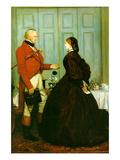 Vertraue mir Poster von John Everett Millais