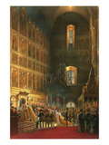 Annointing of Alexander II Prints by Vasily Timm