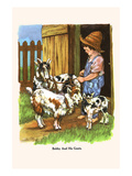 Bobby and His Goats Prints by  Bird & Haumann
