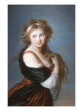 Hyacinthe Gabrielle Roland, Marchioness Wellesley, (Formerly Countess of Mornington) Kunstdruck von Elisabeth Louise Vigee-LeBrun