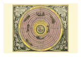 Planisphaerium Ptolemaicum Print by Andreas Cellarius