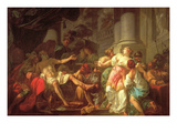 Death of Seneca Posters by Jacques-Louis David