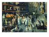 Cliff Dwellers Premium Giclee Print by George Bellows