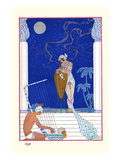 Egypt Prints by Georges Barbier