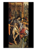 Christ Presented to the People Art by Hans Memling