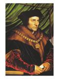 Sir Thomas More Kunstdruck von Hans Holbein the Younger