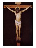 Christ on the Cross Schilderij van Diego Velázquez