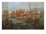 Venice from the Bacino Di San Marco Posters by Francesco Guardi