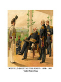 Winfield Scott at the Point - 1858 - 1861 - Cadet Reporting Prints by Henry Alexander Ogden