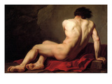 Patroclus Affischer av Jacques-Louis David