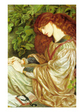 La Pia De' Tolomei Photo by Dante Gabriel Rossetti