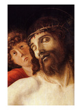 The Dead Christ Supported by an Angel Posters by Giovanni Bellini