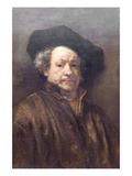 Self Portrait Rembrandt Photo by  Rembrandt van Rijn