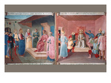 Christ in Front of Pilate Print by  Fra Angelico