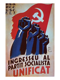 Join the United Socialists Party Posters by Rafel Tona