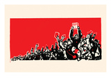 The Crowd Poster by  Chinese Government
