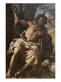 St. John the Baptist Preaching Prints by Mattia Preti