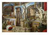 Ancient Rome Prints by Giovanni Paolo Panini