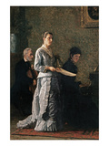 Singing a Pathetic Song Prints by Thomas Cowperthwait Eakins