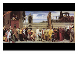 Cimabue's Celebrated Madonna Prints by Frederick Leighton