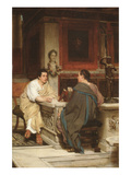 Discourse Premium Giclee Print by Sir Lawrence Alma-Tadema