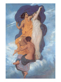 The Dance Prints by William Adolphe Bouguereau