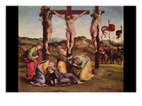 Crucifixion Print by Luca Signorelli