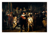 The Night Watch Posters van  Rembrandt van Rijn
