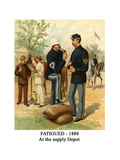Fatigued - 1888 - at the Supply Depot Posters by Henry Alexander Ogden