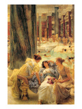 Baths of Caracalla Print by Sir Lawrence Alma-Tadema