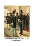 General Reception - 1862 - 1871 - at Headquarters Print by Henry Alexander Ogden