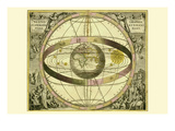 Sceno Systematis Ptolemaici Prints by Andreas Cellarius