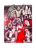Cocaine Print by Rene Galliard
