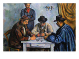 The Card Players Posters by Paul Cézanne
