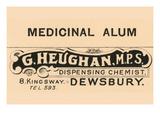 Medicinal Alum Posters