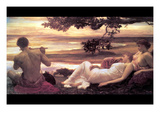 Idyll Posters by Frederick Leighton