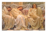 Dreamers Prints by Albert Joseph Moore