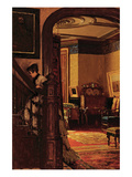 The Interior of the Artist's Home Posters by Eastman Johnson