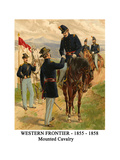Western Frontier - 1855 - 1858 - Mounted Cavalry Posters by Henry Alexander Ogden