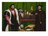 The Ambassadors Posters by Hans Holbein the Younger