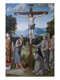 The Crucifixion with Saints Posters af Martino Plazza