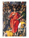 Undressing Christ Prints by  El Greco