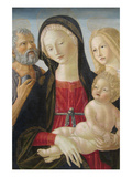 Madonna and Child with Saints Jerome and Mary Magdalene, Prints by Neroccio Di Landi
